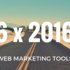 Thumbnail image for 6 x 2016: The best tools for your next web marketing strategy