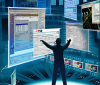 """Thumbnail image for Microsoft Shows """"Minority Report"""" Look-Alike Office Wall"""