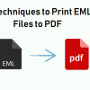 Thumbnail image for Print EML Files to PDF – Find the Method with Detailed Explanation