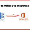 Thumbnail image for Exchange to Office 365 Migration Guide for Non-Tech Users