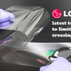 Thumbnail image for LG's latest technology to limit screen creasing