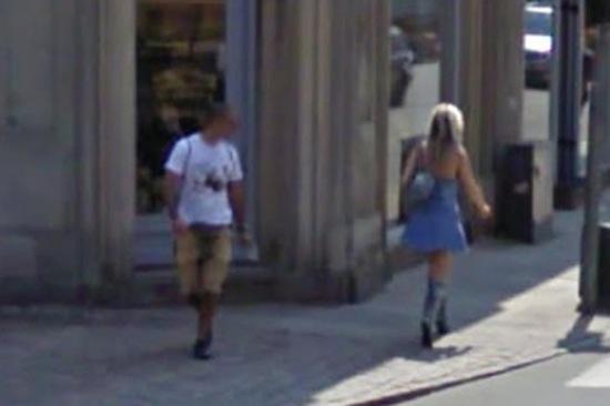 strange asian pee street video