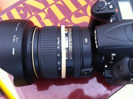 how to fix a misaligned lens