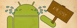 android-is-lost