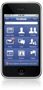 Facebook app for iPhone 3.0